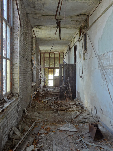 The upstairs hallway. Author: Paul SablemanCC BY 2.0