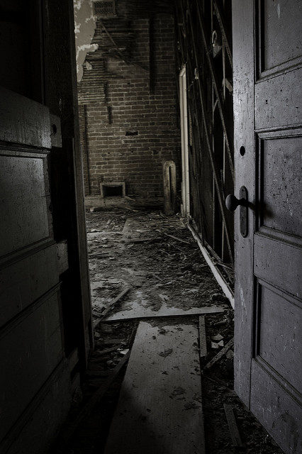 Through the open door. Author: Kevin CortopassiCC BY-ND 2.0