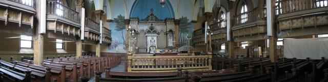 Beth Hamedrash Hagodol sanctuary in 2005 – Author: Paul Berger – CC BY-SA 3.0