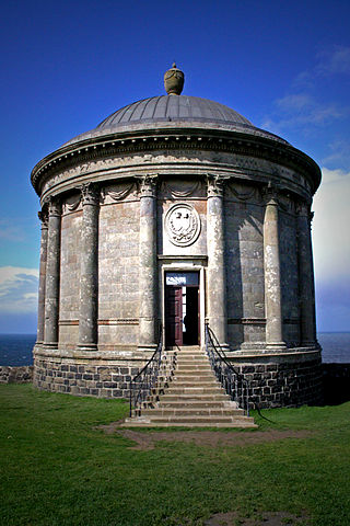 The Mussenden temple/ Author: paddy patterson – CC BY 2.0