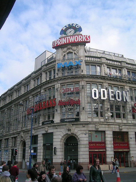 The site of the Odeon Cinema. Author: Mikey. CC BY 2.0
