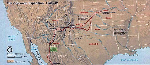 The Coronado Expedition 1540–1542