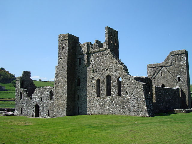 The ruins of Fore Abbey are the only remains of a Benedictine monastery in Ireland