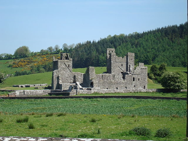 Fore Abbey was several times destroyed