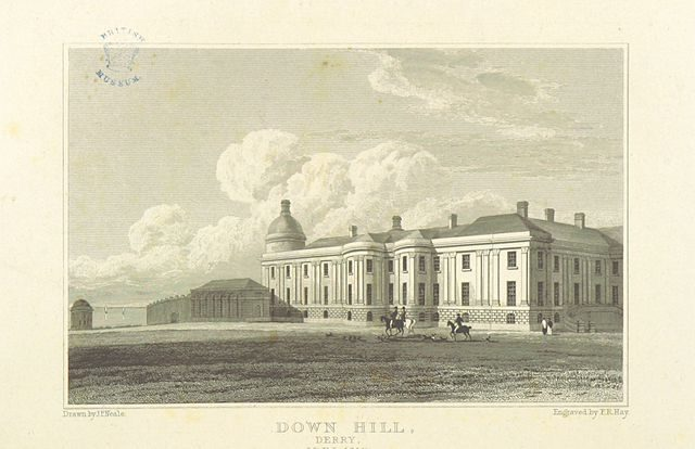 Downhill House in 1818