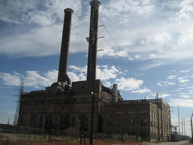 Old New Orleans Public Service Power Plant, New Orleans – Author: Infrogmation of New Orleans – CC BY-SA 3.0