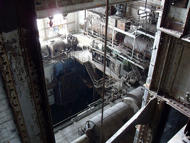 Inside the Market Street Power Plant, New Orleans – Author: The Wandering God / Cody Allison – CC BY 2.0