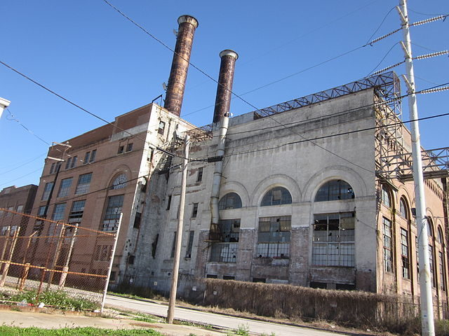 New Orleans Market Street Power Plant view from the back – Author: Infrogmation of New Orleans – CC BY-SA 3.0