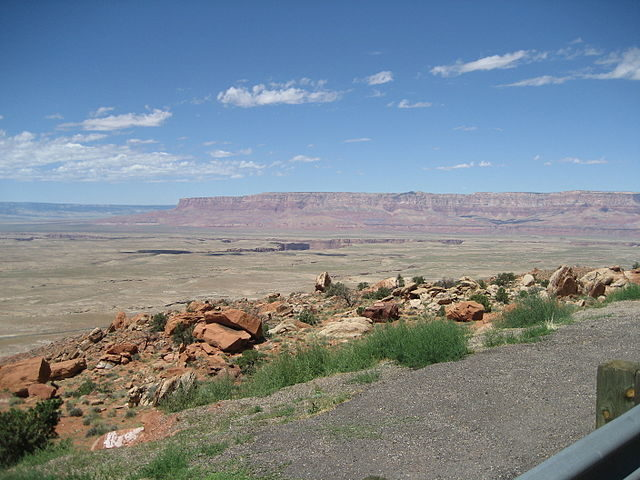 Panoramic view of Hopi Reservation