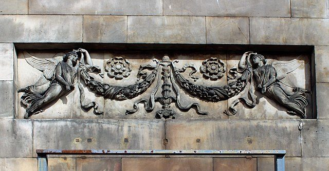 A decorative panel/ Author: Rodhullandemu – CC BY-SA 4.0