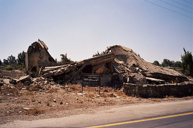 Destroyed buildings (2007)/ Author: ChrisO – CC BY 2.0