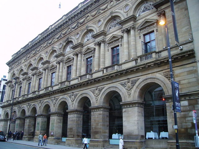 Free Trade Hall, Manchester. Author: KJP1. CC BY-SA 3.0