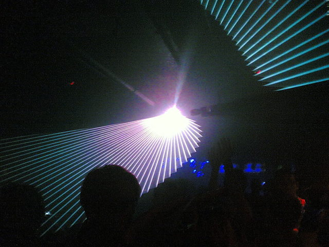 Turnmills Laser Light Show – 6 May 2006. Author: wilf3102