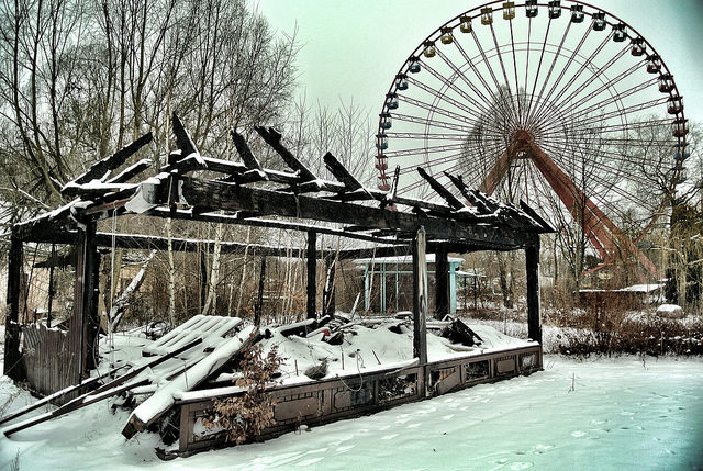 Abandoned Amusement Park, Spreepark Berlin – Author: Jan Bommes – CC BY 2.0