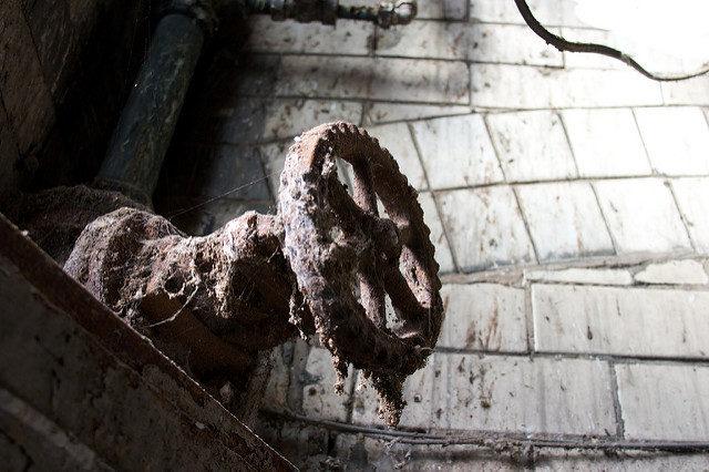 A long forgotten valve. Author:Pete BirkinshawCC-BY 2.0