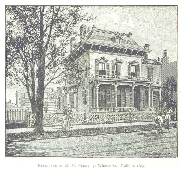 A residence from 1869. Author The British Library Public Domain