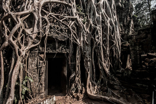 After serving as a filming location for the movie Tomb Rider, the temple became even more popular. Author: Aditya Karnad. CC BY 2.0