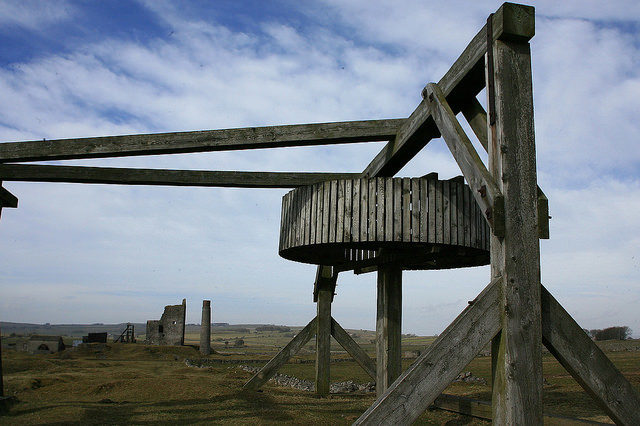 An abandoned piece of equipment. Author:Anthony Stewart VardyCC BY 2.0