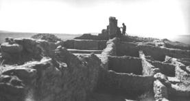 The ruins in 1937