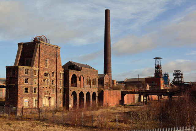 Chatterley Whitfield mine. Author:HalfmonkeyCC BY-SA 3.0
