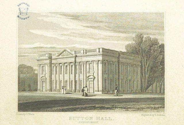 Depicting the house in circa 1818. Author:John Preston Neale