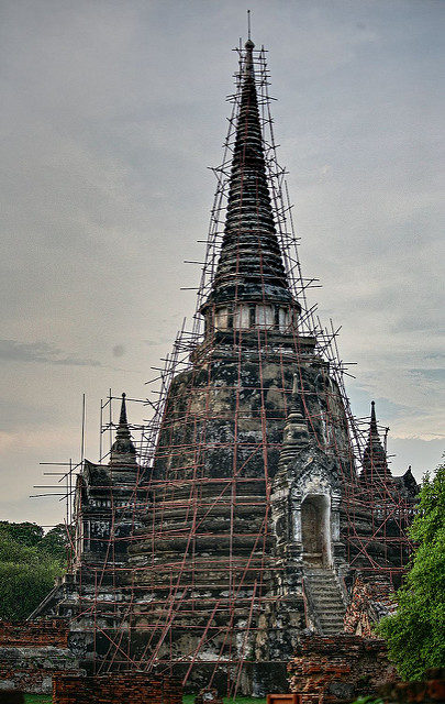 During restoration. Author:Heiko SCC BY 2.0