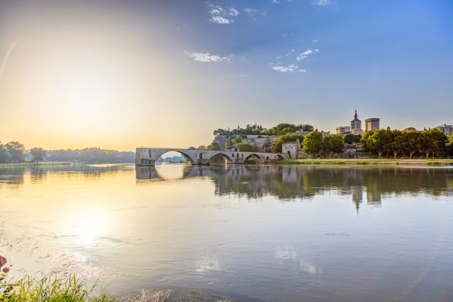 It is listed as a UNESCO Heritage Site as part of the historical center of Avignon. Author: Fenliokao. CC BY-SA 3.0