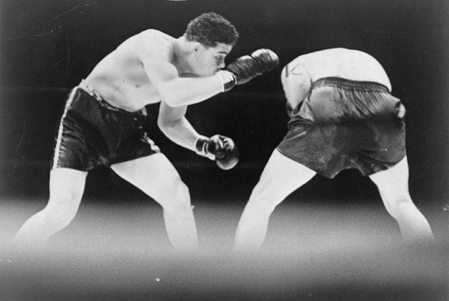 Joe Louis' fight against Max Schmeling. Author:World Telegram staff photographerPublic Domain