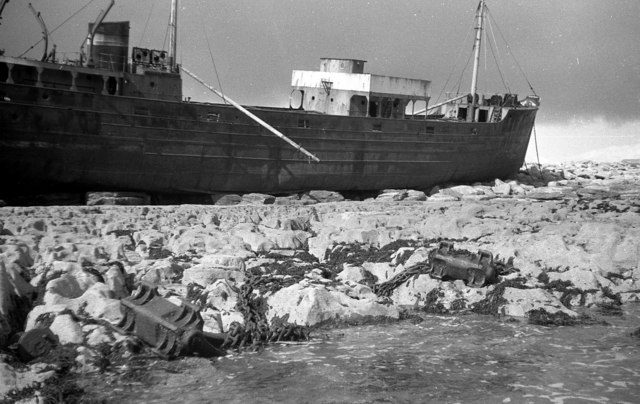 MV Plassy in 1962. Author:Harold StrongCC BY-SA 2.0