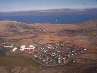 Aerial view of Nanisivik. Author: Loimere. Public Domain