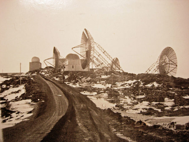 One of the stations. The photo wastaken 1899. Author:John KnobelCC BY-SA 3.0