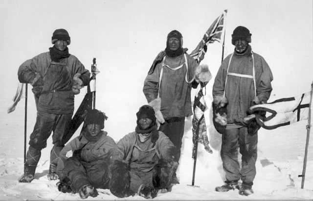 Part of the Robert Falcon Scott crew. Author:Henry Bowers