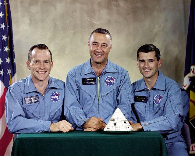 The Apollo 1 Prime Crew.