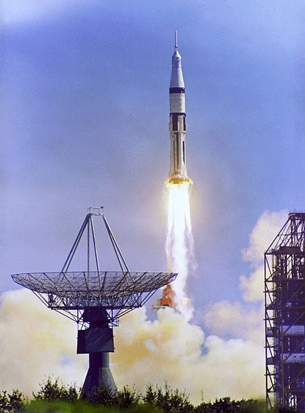 The Apollo 7 Launch.