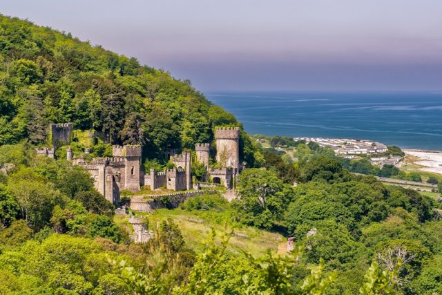 The Gwrych Castle. Author: Ognyan Petrov. CC BY-SA 4.0