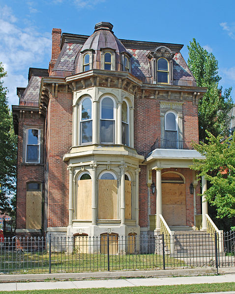 The home of John P. Fiske a Detroit merchant. Author: Andrew Jameson CC BY-SA 3.0