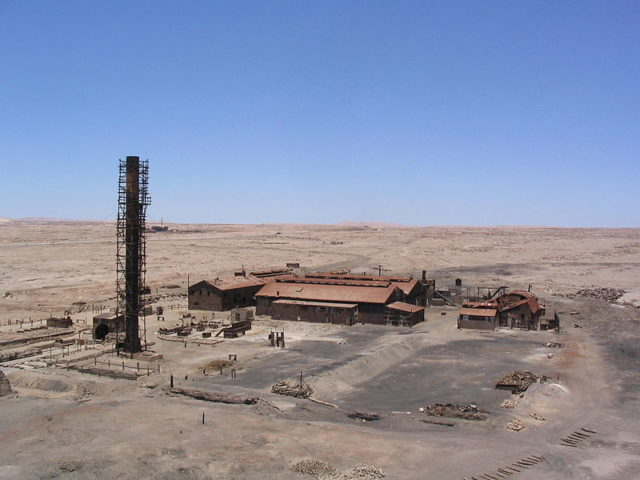 The Humberstone refinery. Author:Robin FernandesCC BY-SA 2.0
