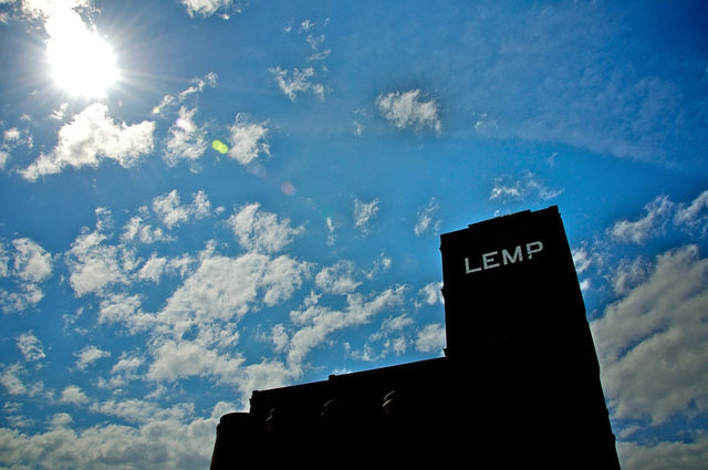 The Lemp name towering in the sky. Author:sawdust_mediaCC BY 2.0