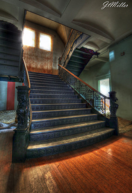 The main stairwell. Author:Mr MomentCC BY 2.0