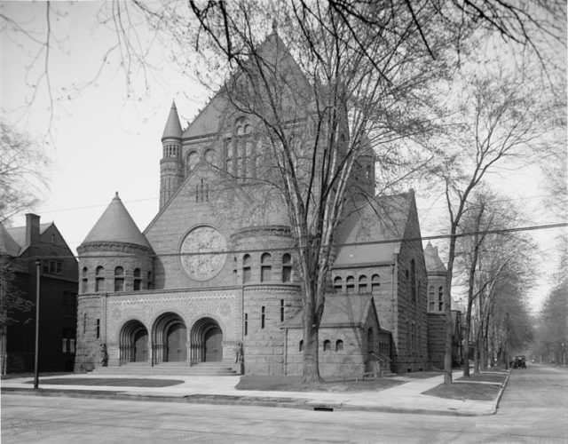 The Presbyterian Church in 1906. Author: Unknown Detroit Publishing Company Public Domain