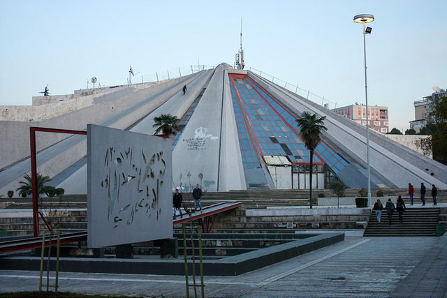 The Pyramid of Tirana. Author:Eser AygünCC BY-SA 2.0
