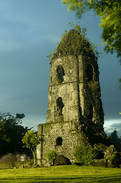 The remaining bell tower.