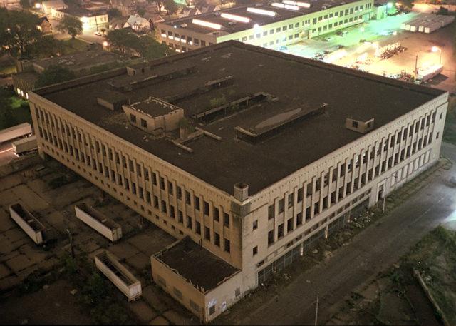 The Roosevelt warehouse. Author:Junkyardsparkle CC0 1.0