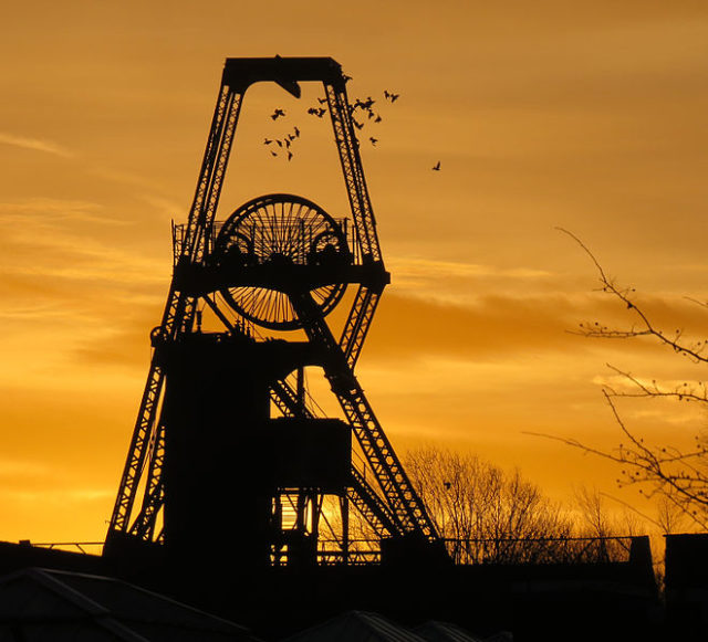 The silhouette of the Hesketh tower. Author:HalfmonkeyCC BY-SA 3.0