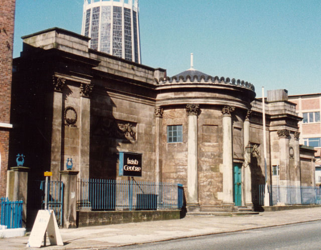 The Wellington Rooms as the Irish Center, 1988/ Author: Keith Edkins – CC BY-SA 2.0