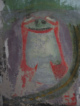 """Another fresco ruined by another """"artist""""/ Author: Frater Kybernetes – CC BY-SA 2.0"""