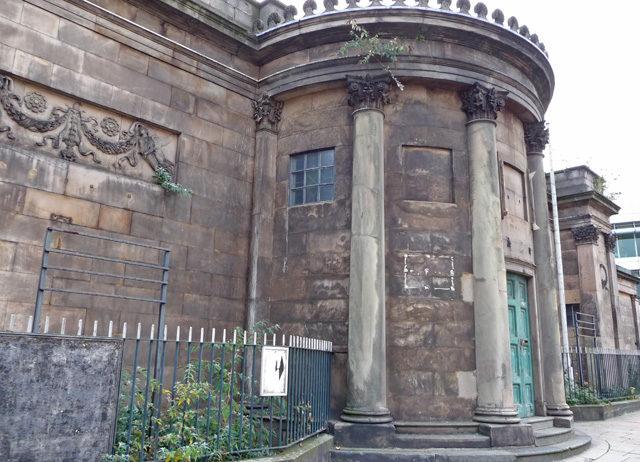 The entrance is a rotunda/ Author: John Allan – CC BY-SA 2.0