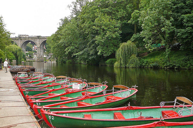 The river Nidd/Author: Tim Green – CC BY 2.0