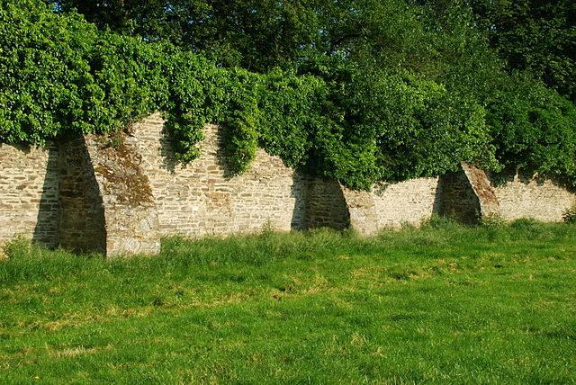 The surrounding wall/ Author: EmDee – CC BY-SA 3.0