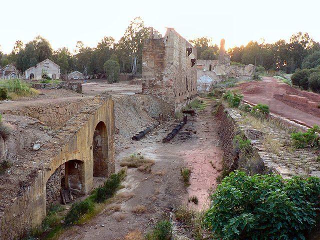 São Domingo mine village remains – Author: Paulo Juntas – CC BY-SA 2.5